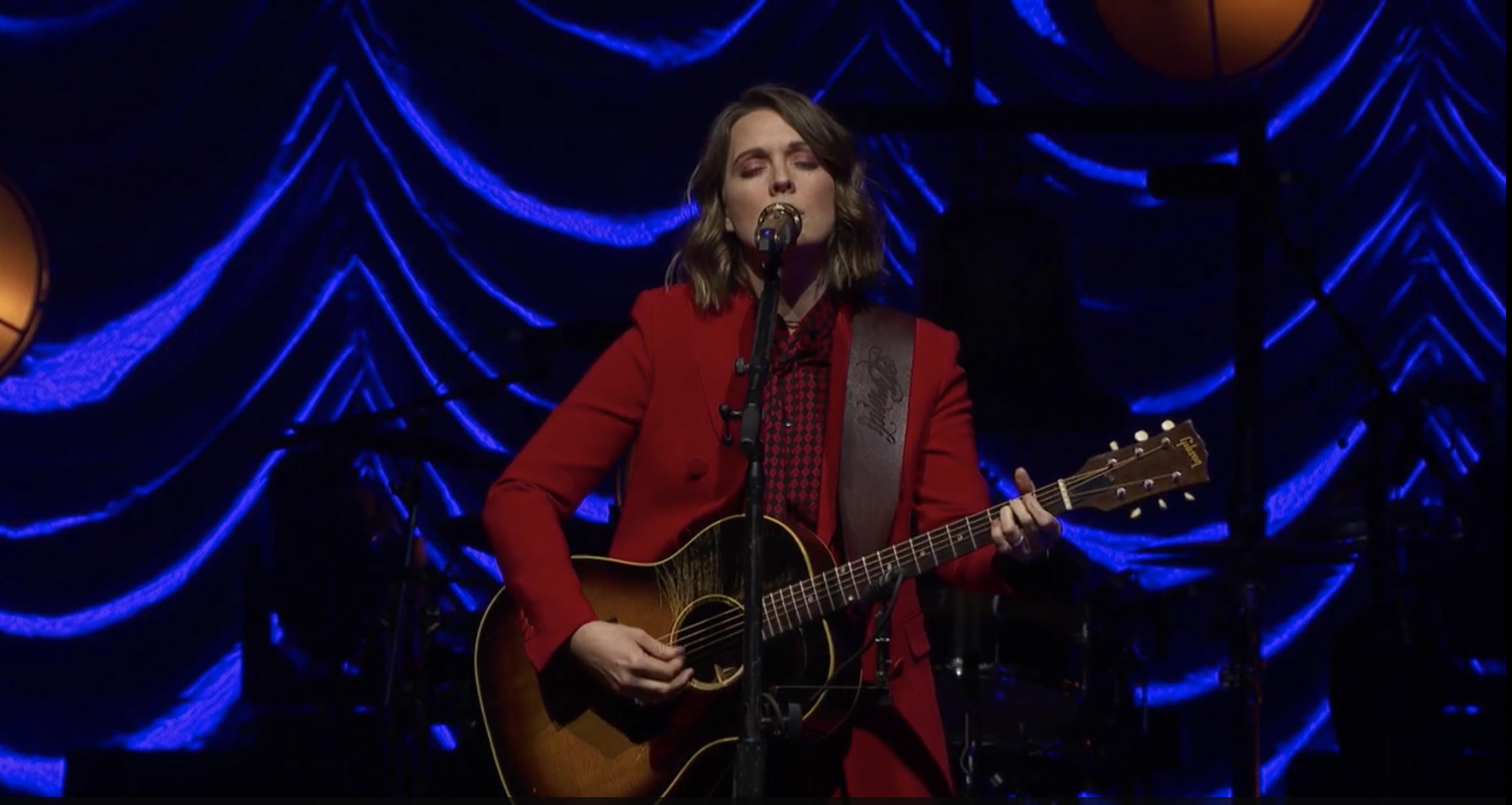 Spotlight: Brandi Carlile's Benefit Livestream Concert